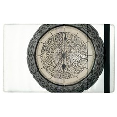 Clock Celtic Knot Time Celtic Knot Apple iPad 2 Flip Case
