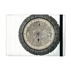 Clock Celtic Knot Time Celtic Knot Apple Ipad Mini Flip Case