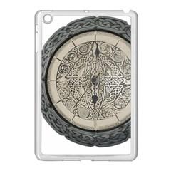 Clock Celtic Knot Time Celtic Knot Apple Ipad Mini Case (white)