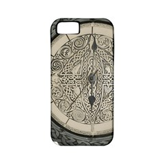 Clock Celtic Knot Time Celtic Knot Apple Iphone 5 Classic Hardshell Case (pc+silicone)
