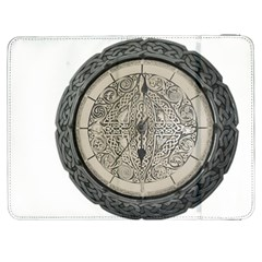 Clock Celtic Knot Time Celtic Knot Samsung Galaxy Tab 7  P1000 Flip Case