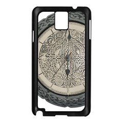 Clock Celtic Knot Time Celtic Knot Samsung Galaxy Note 3 N9005 Case (black)