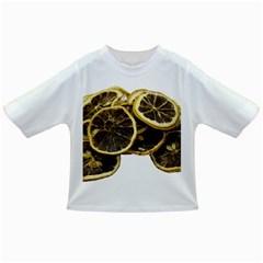 Lemon Dried Fruit Orange Isolated Infant/toddler T Shirts