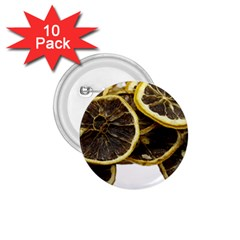 Lemon Dried Fruit Orange Isolated 1 75  Buttons (10 Pack)