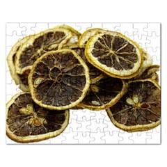 Lemon Dried Fruit Orange Isolated Rectangular Jigsaw Puzzl