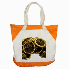 Lemon Dried Fruit Orange Isolated Accent Tote Bag