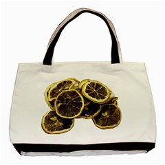 Lemon Dried Fruit Orange Isolated Basic Tote Bag (Two Sides)