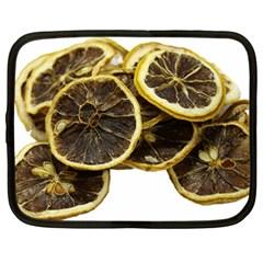 Lemon Dried Fruit Orange Isolated Netbook Case (Large)