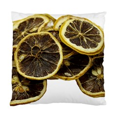 Lemon Dried Fruit Orange Isolated Standard Cushion Case (two Sides)