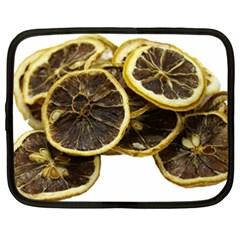 Lemon Dried Fruit Orange Isolated Netbook Case (xxl)