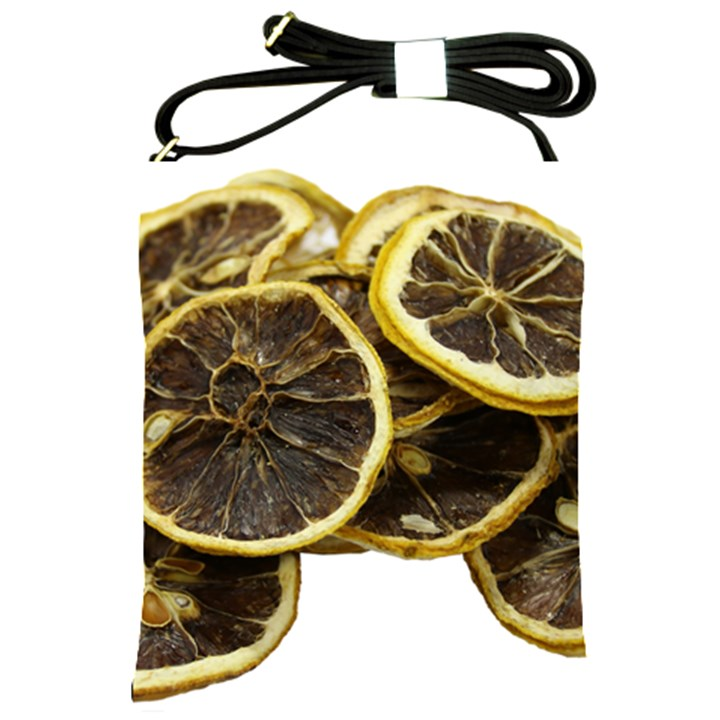 Lemon Dried Fruit Orange Isolated Shoulder Sling Bags