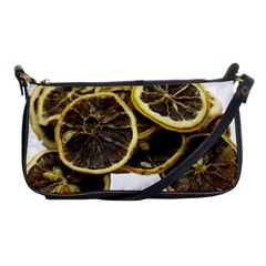 Lemon Dried Fruit Orange Isolated Shoulder Clutch Bags