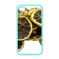 Lemon Dried Fruit Orange Isolated Apple iPhone 4 Case (Color)