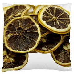 Lemon Dried Fruit Orange Isolated Large Cushion Case (one Side)