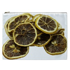 Lemon Dried Fruit Orange Isolated Cosmetic Bag (XXL)