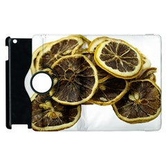 Lemon Dried Fruit Orange Isolated Apple Ipad 3/4 Flip 360 Case