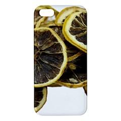 Lemon Dried Fruit Orange Isolated Iphone 5s/ Se Premium Hardshell Case