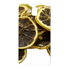 Lemon Dried Fruit Orange Isolated Samsung Galaxy Note 3 N9005 Hardshell Back Case