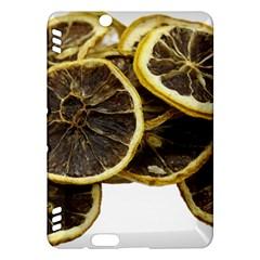 Lemon Dried Fruit Orange Isolated Kindle Fire Hdx Hardshell Case