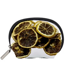 Lemon Dried Fruit Orange Isolated Accessory Pouches (small)