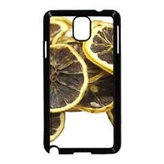 Lemon Dried Fruit Orange Isolated Samsung Galaxy Note 3 Neo Hardshell Case (black)