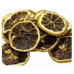 Lemon Dried Fruit Orange Isolated Double Sided Flano Blanket (medium)