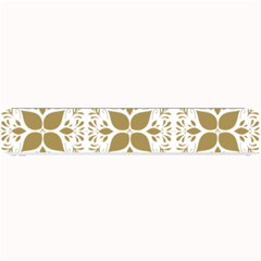 Pattern Gold Floral Texture Design Small Bar Mats
