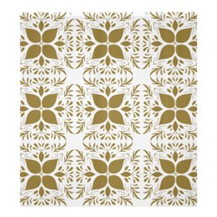 Pattern Gold Floral Texture Design Shower Curtain 66  X 72  (large)