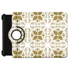 Pattern Gold Floral Texture Design Kindle Fire Hd 7