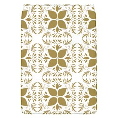 Pattern Gold Floral Texture Design Flap Covers (s)