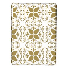 Pattern Gold Floral Texture Design iPad Air Hardshell Cases