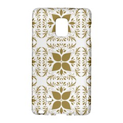 Pattern Gold Floral Texture Design Galaxy Note Edge