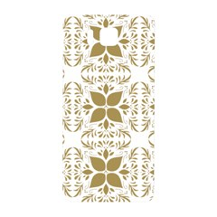 Pattern Gold Floral Texture Design Samsung Galaxy Alpha Hardshell Back Case