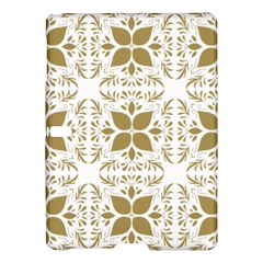 Pattern Gold Floral Texture Design Samsung Galaxy Tab S (10 5 ) Hardshell Case