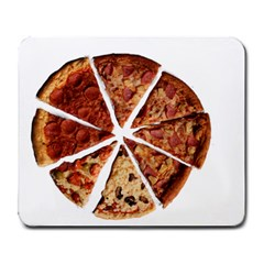 Food Fast Pizza Fast Food Large Mousepads