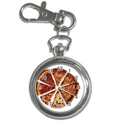 Food Fast Pizza Fast Food Key Chain Watches