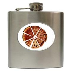 Food Fast Pizza Fast Food Hip Flask (6 Oz)