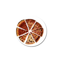 Food Fast Pizza Fast Food Golf Ball Marker (4 Pack)