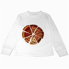 Food Fast Pizza Fast Food Kids Long Sleeve T Shirts