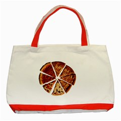 Food Fast Pizza Fast Food Classic Tote Bag (red)