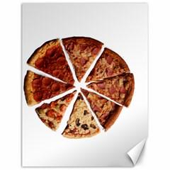 Food Fast Pizza Fast Food Canvas 12  x 16