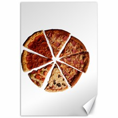 Food Fast Pizza Fast Food Canvas 24  X 36