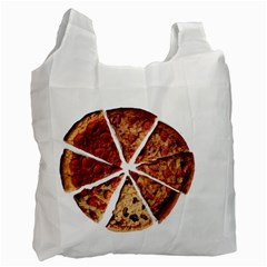 Food Fast Pizza Fast Food Recycle Bag (One Side)