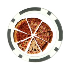 Food Fast Pizza Fast Food Poker Chip Card Guard (10 Pack)