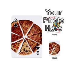 Food Fast Pizza Fast Food Playing Cards 54 (mini)