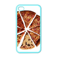 Food Fast Pizza Fast Food Apple Iphone 4 Case (color)