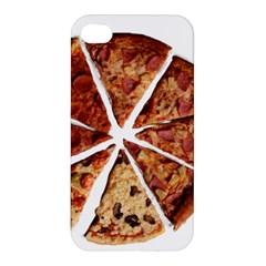 Food Fast Pizza Fast Food Apple Iphone 4/4s Hardshell Case