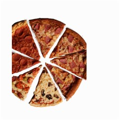 Food Fast Pizza Fast Food Small Garden Flag (Two Sides)