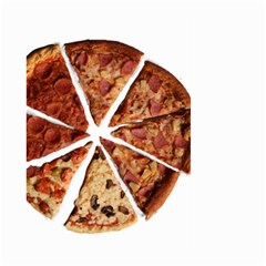 Food Fast Pizza Fast Food Large Garden Flag (two Sides)