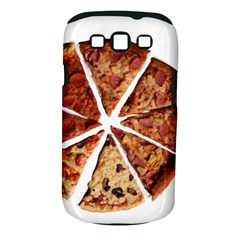 Food Fast Pizza Fast Food Samsung Galaxy S III Classic Hardshell Case (PC+Silicone)